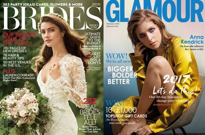 Brides/Glamour Jan 17