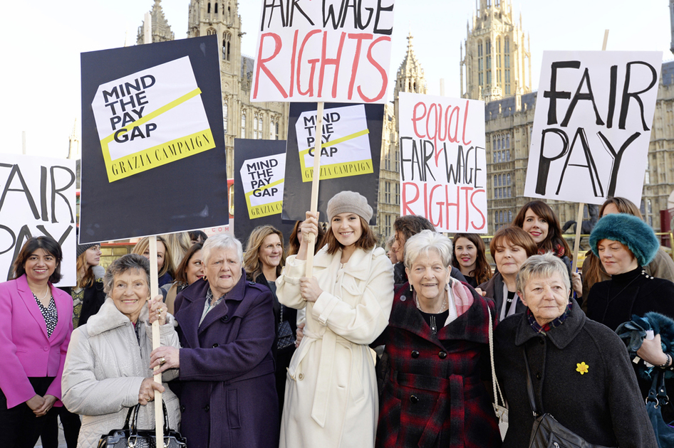 Grazia Mind the Pay Gap Campaign