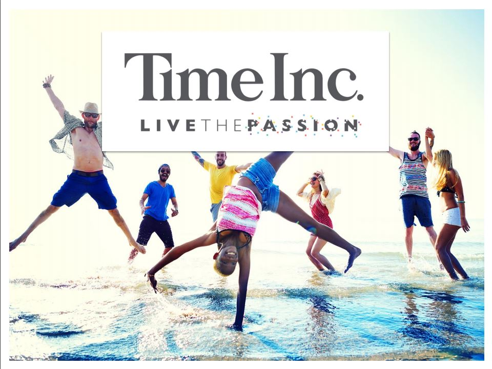 Time Inc. Live the Passion